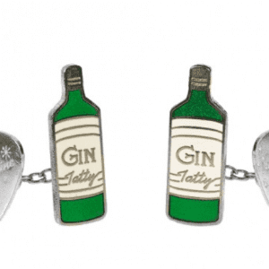 Tatty Devine Gilbert and George Gin Cufflinks